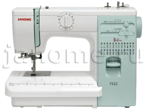 Швейная машина Janome 7522. Источник www.janome.ru